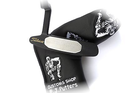 titleist scotty cameron putter STUDIO STYLE  fully customised in black tour