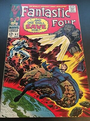 Fantastic Four Vol 1 # 62 Cents Issue, Silver Age