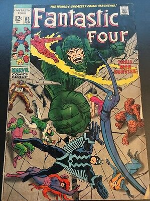 Fantastic Four Vol 1 # 83 Cents Issue, Silver Age