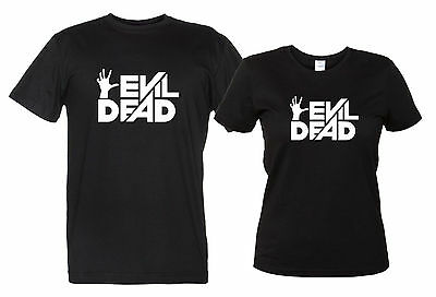 Evil Dead Maglietta Film Cult La Casa Uomo Donna T-Shirt Tributo Horror Movie