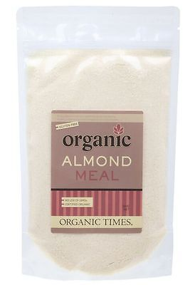 ORGANIC TIMES Almond Meal 300g   x 2 boxes