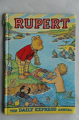 Vintage Rupert - 1975 - The Daily Express Annual - 42 Years Old