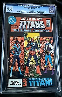 TALES OF THE NEW TEEN TITANS #44 CGC Graded 9.6 NM+ 1st app. NIGHTWING Hot Key!