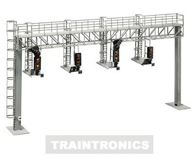 Traintronics 180 NEW MODERN STYLE 4 TRACK GANTRY KIT    (SIGNAL HEADS NOT INCLU