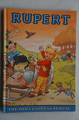 Vintage Rupert - The Daily Express Annual 1977 - 40 Years Old