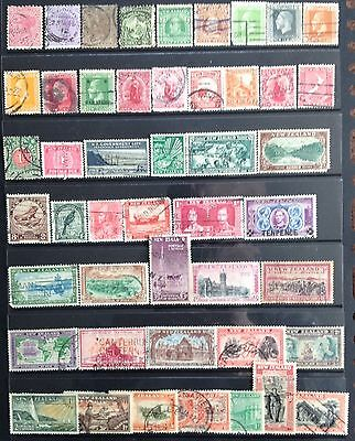 New Zealand Stamps QV- KGVI. Mint & Used