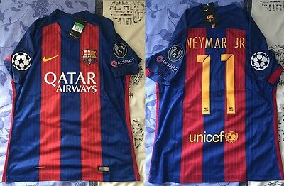 Maillot Barcelone Domicile Neymar Taille XL