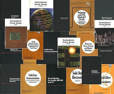 22 Pdf Texas Instruments Semiconductor Electronics Design Books 1964-1976