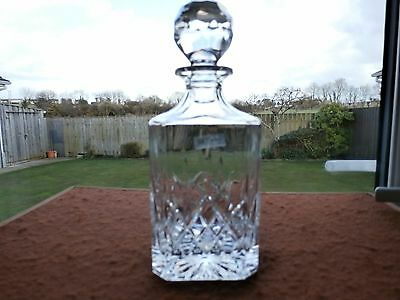 """Galway Crystal """"LONGFORD"""" Decanter"""