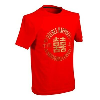 """DHS """"Double Happiness"""" Table Tennis / Casual T-Shirt for Ma Long Wang Hao"""