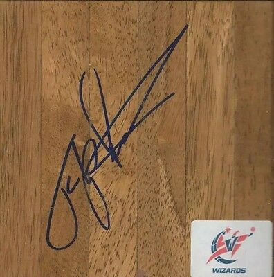Flip Saunders Signed Autographed Floorboard Wizards Timberwolves RIP