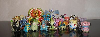 Pokemon GO Cosplay Figuren 2. Generation Tomy Johto Sammelfiguren Figur