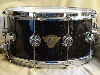DW Classics Series 7x14 snare with Black Ice FinishPly and chrome hardware