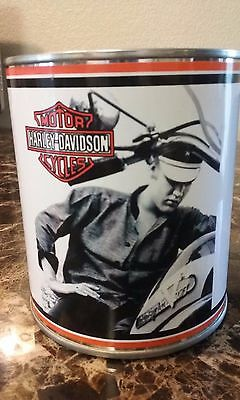 Harley Davidson / ELVIS PRESLEY Oil Can 1 qt. (Stashcan) - Reproduction can