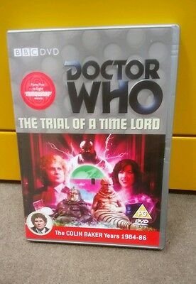 """Doctor Who Trial of a Time Lord.  Parts 5-8  """"Mindwarp""""   Colin Baker"""