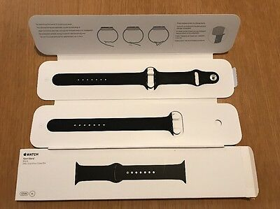 Apple Watch Strap XL - 42mm Black Sports Band XL Size