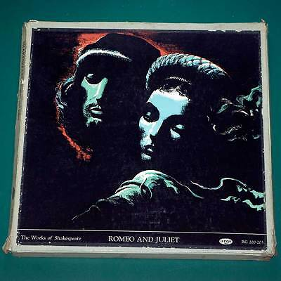 ARGO The Works of Shakespeare - Romeo and Juliet x 4 records