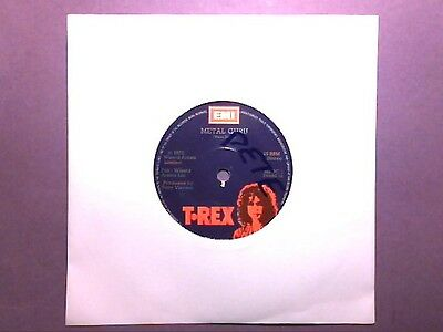 "T Rex - Metal Guru (7"" single) MARC 1"