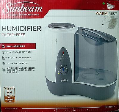 Sunbeam Warm Mist Humidifier - Swm6008-Cn