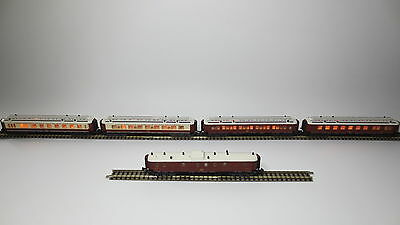 Minitrix 13178 13179 13180 13181 13182 Orient-Express-Set Beleuchtet CH7726