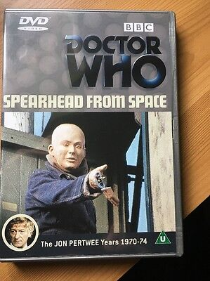 DVD Doctor Who Spearhead From Space 3rd Dr Jon Pertwee