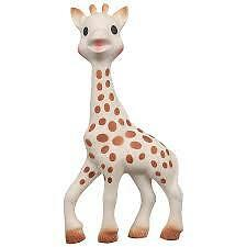 Sophie The Giraffe Teething Toy Gift Baby Safe Pacifier