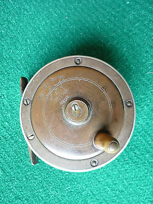 """Vintage 'The Fly Fishers """"SEJ"""" Winch' Reel 2.7/8"""""""