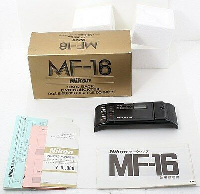 【MINT IN BOX!!!】 Nikon MF-16 Date Back For FE2 FM2 From Japan