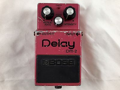 Boss DM-2 Analog Delay Vintage Guitar Effects Pedal 1983