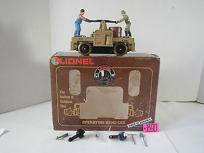 Lionel G Scale #8-87200 Western Gold Town Operating Handcar O.b.