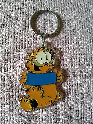 Vintage 1978 Garfield United Feature Syndicate Inc Keyring