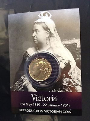 Queen Victoria Coin Pack - Gold Sovereign. -  Great For Collectors