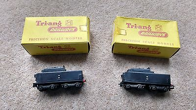 Triang TT gauge. T.592 Two Tenders for Continental Pacific Loco