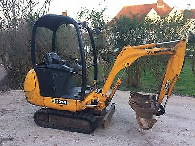 Jcb 8014 Mini Digger 2007 NO VAT