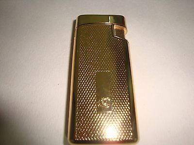 Colibri Gold Plated Power Flame Plus Lighter -Soft & Jet Flumes