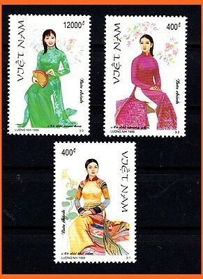 "Vietnam - ""AO DAI"" Vietnamese Traditional Costumes/ Culture/ Heritage 814 MNH"