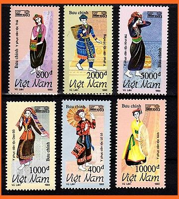 Vietnam - Minority Traditional Costumes/ Culture/ Heritage 773 MNH
