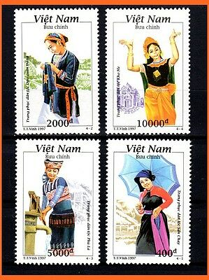 Vietnam - Minority Traditional Costumes/ Culture/ Heritage 758 MNH