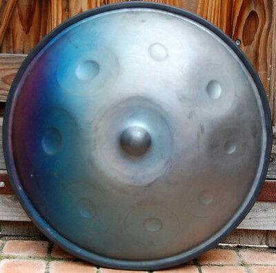 Handpan Totem music  ,Pygmy en Do ( in C) ,8 notes