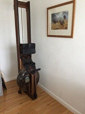 Waterrower classic in Walnut with S4 monitor made in the USA  , 2 months old