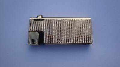 Colibri METAL Gold Toned Pipe & Cigarette Lighter-in a good working order
