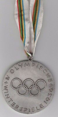 remembrance medal   Olympic W.Games GARMISCH PARTENKIRCHEN 1936 / Edt.B  !  RARE