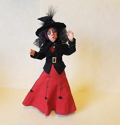 D/house Miniature Lyubov Morozova Shocked Witch 1/12th  - Resell OOAK WITCH