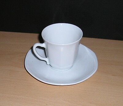 Small WW-II German Navy Officer's Mess Coffee Cup & Saucer by Limoges dated 1940