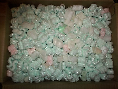 Reclaimed Clean Packing Peanuts
