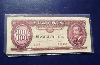Banknote Hungary 100 Forint 1984 Circulated