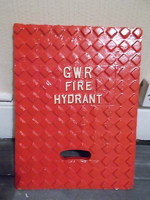 Great Western Railway Cast Iron Fire Hydrant Cover
