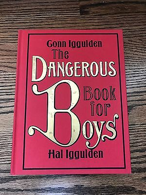 The Dangerous Book for Boys by Conn Iggulden Hardcover Book (English) - NEW!!