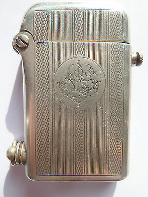 Ancien Briquet  THORENS  Argent Silver 0.800  NO SHIPPING TO CHINE CHINA
