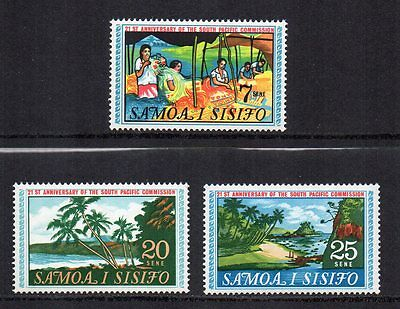 SAMOA - 1968, 21st Anniversary of the South Pacific Commission, MNH
